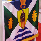 Flag of Lapovo at the 2nd Fair of Local Governing