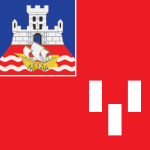 Flag of New Belgrade