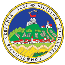 Middle (Seal) Arms of Vršac